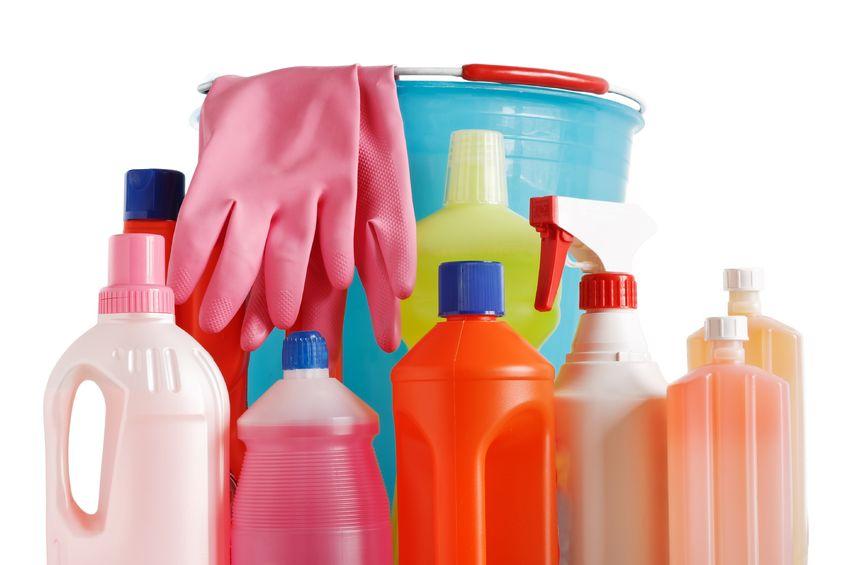 чистка ковров бытовыми моющими средствами