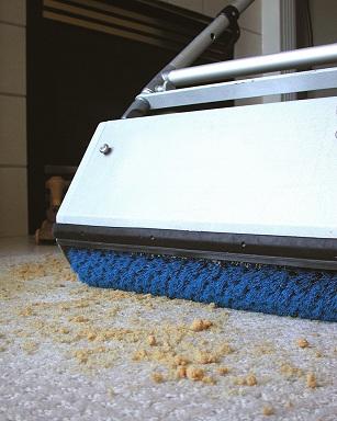 сухая чистка ковров